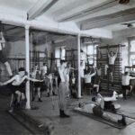 The rehabilitation gym at Thorpe hall