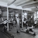 The rehabilitation gym at Thorpe hall